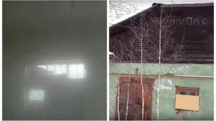 «Как в парилке»: в Первоуральске в аварийном доме, где замерзали жильцы, прорвало батареи