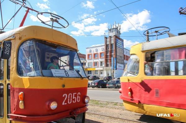 По словам чиновников, простоев в работе уфимских трамваев не будет