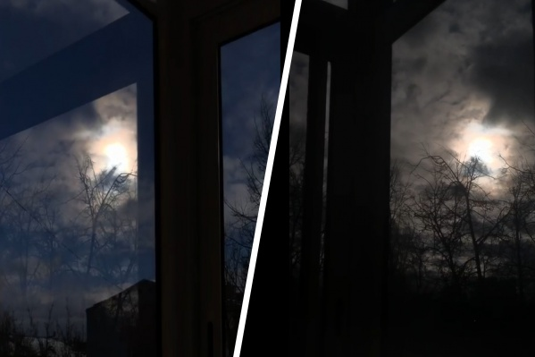 Луна была необычайно яркой