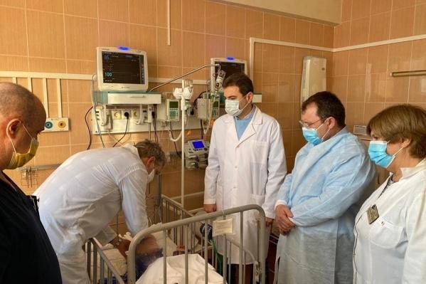 """Самому маленькому пациенту <nobr class=""""_"""">1 год</nobr> и <nobr class=""""_"""">9 месяцев</nobr>"""