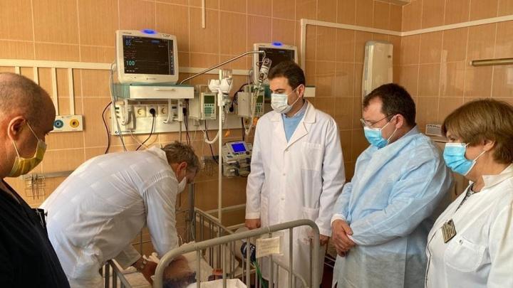 В Минздраве рассказали о состоянии пострадавших в ДТП с автобусом под Сызранью