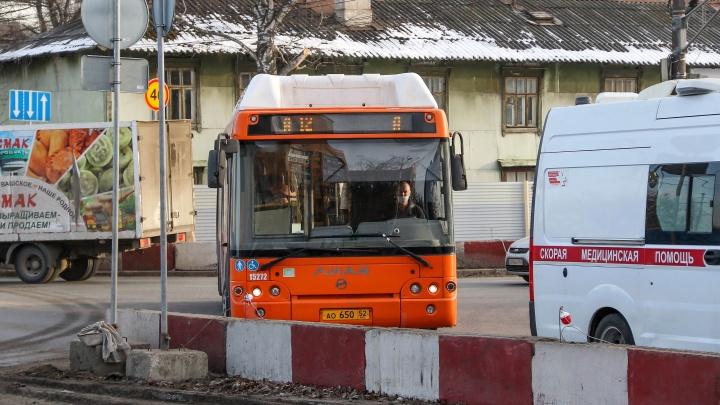 Две новые выделенные полосы для автобусов появятся в Нижнем Новгороде