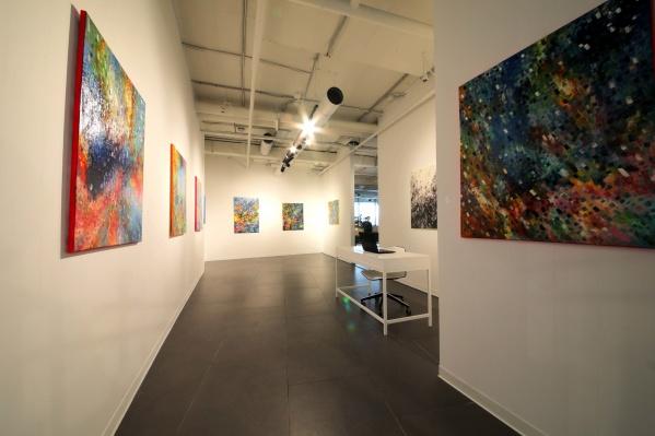 На первой экспозиции собрано 14 картин, через несколько месяцев все их заменят