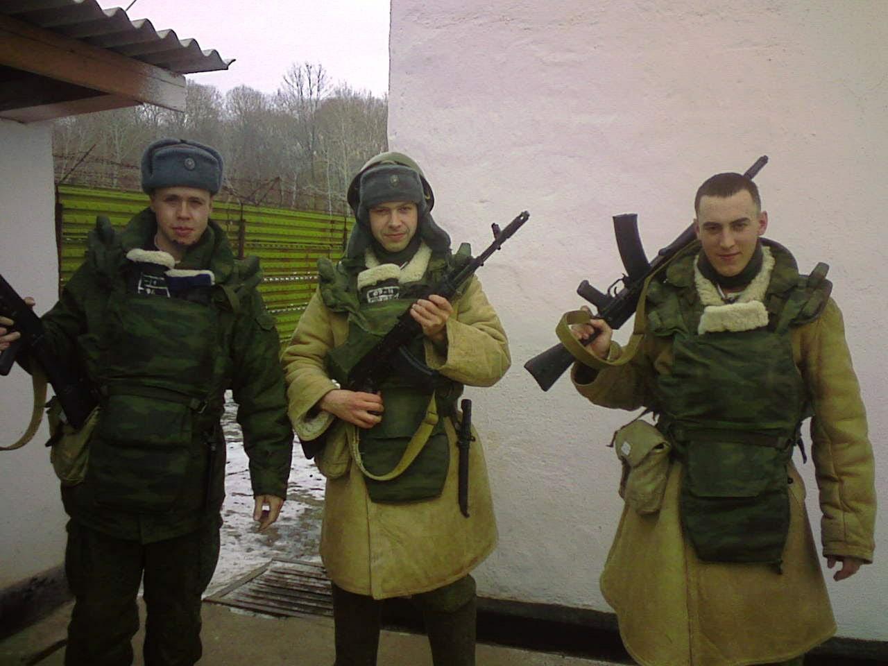 Этот кадр был сделан солдатами во время службы в Приморском крае