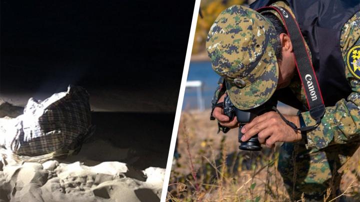 В Самаре на пляже нашли сумку с трупом женщины