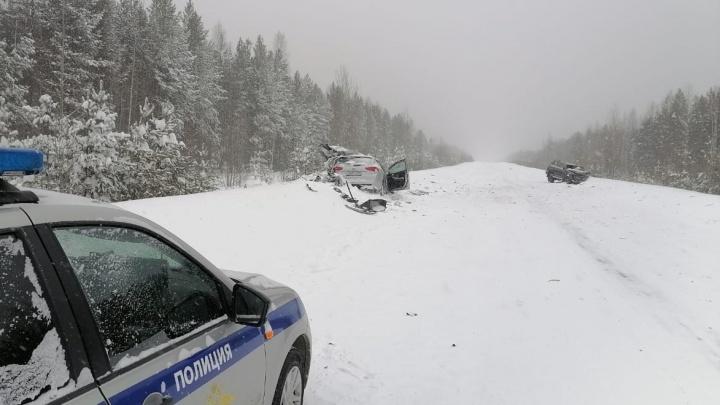 На севере области в аварии с Land Cruiser погибли две маленькие сестры