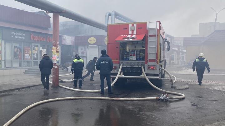 Всё, что известно о пожаре на Качинском рынке