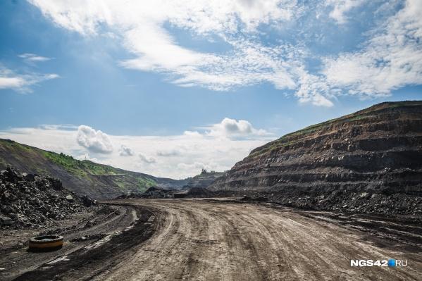 На земле, где предприятие планирует добывать уголь, созданы особо охраняемые природные территории