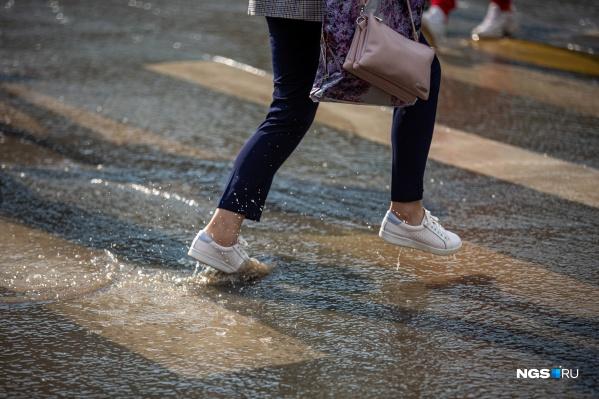 В Новосибирск снова придут дожди