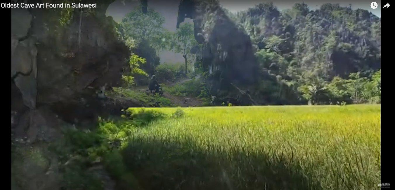 Скриншот из видео в YouTube