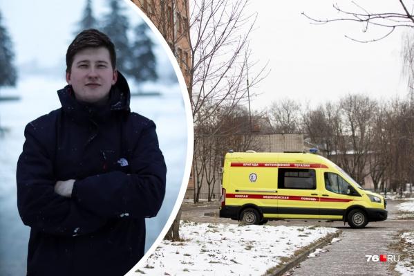Даниил Буров&nbsp;рад, что решил пойти работать в COVID-госпиталь, потому что это огромный и бесценный опыт, который в другом месте он вряд ли бы получил<br>