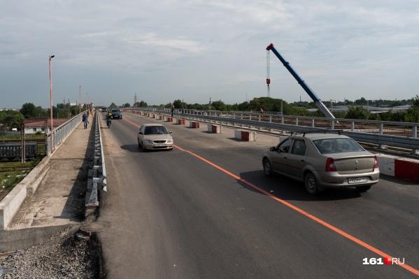 Первую часть моста на Малиновского открыли 30 июля
