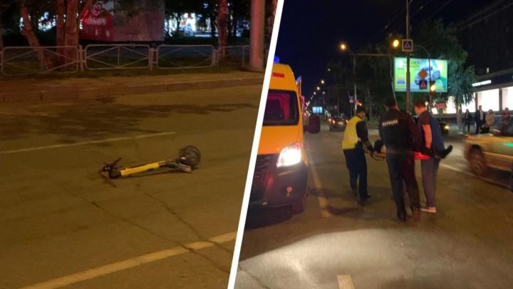 Возбуждено уголовное дело против девушки, которая насмерть сбила парня на Вокзальной магистрали