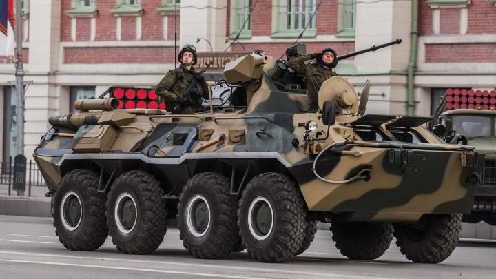 В Новосибирске назначены даты репетиций парада Победы в центре города