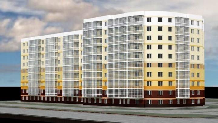 Мэрия опубликовала эскиз 180-квартирного дома для переселенцев на Московке