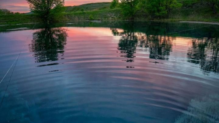 У Голубого озера хотят организовать кемпинг и прокат инвентаря