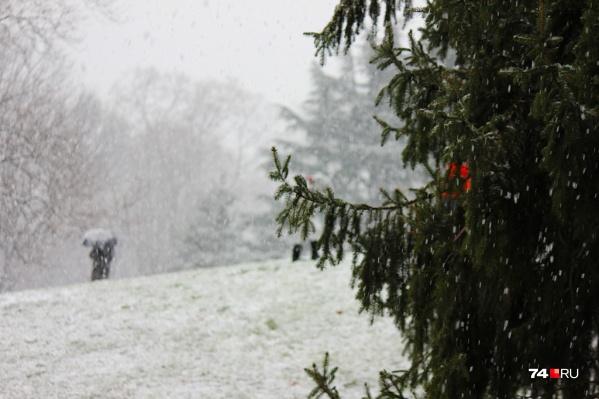 Зауральцам пообещали обильные снегопады в ближайшие дни