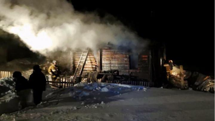 Новосибирские следователи возбудили второе дело из-за пожара, в котором погибли мать и двое детей
