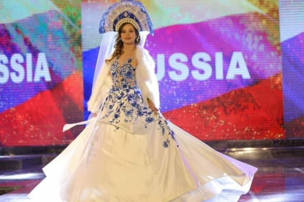 Наряд Кристины на финале конкурса