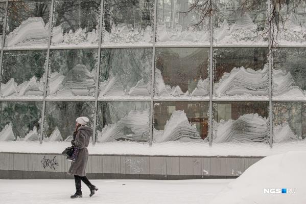В городе выпал снег — так много его не было давно