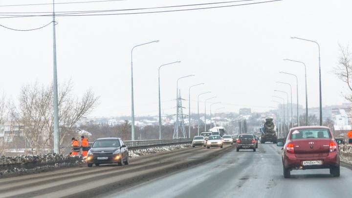 На Южном шоссе установят разделительные ограждения