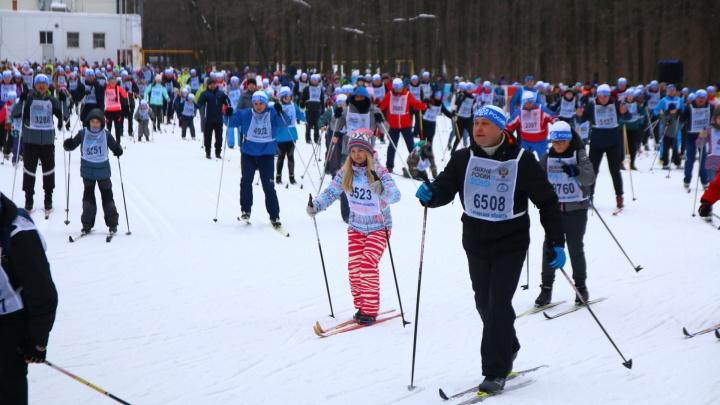 «Лыжня России» в Самаре будет проходить с COVID-ограничениями