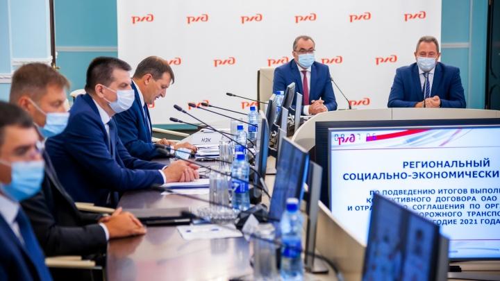 Начальник ЮУЖД Анатолий Храмцов: «В первом полугодии производительность труда выросла на 11,7%»