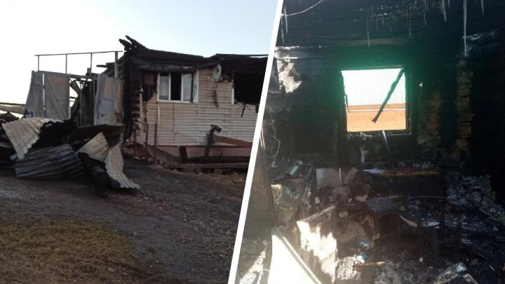 «Взял сестру с братом под мышку — и через огонь»: на Урале подросток спас из пожара двух детей