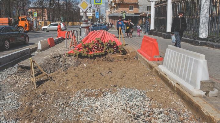 Почему на Комсомольском проспекте убирают парковки? Их вообще не будет? Отвечают в дирекции дорожного движения