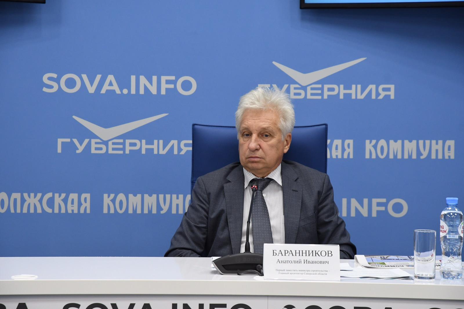 Анатолий Баранников уже долгие годы занимает должность главного архитектора региона