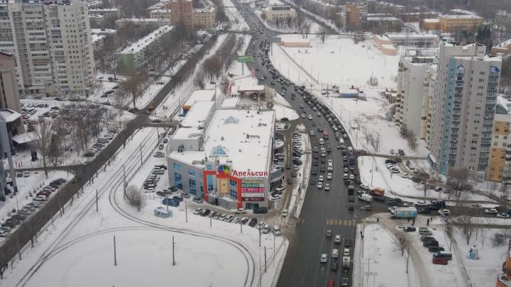 «Катаемся кругами»: самарцы просят открыть въезды на дублер Ново-Садовой