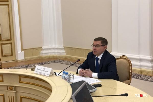 Якушев с осени прошлого года занимает должность полпреда