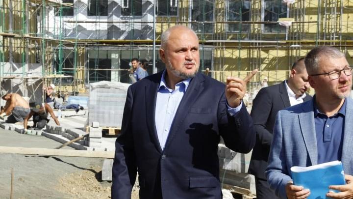 Власти рассказали о строительстве культурного кластера, который должны были сдать в июле