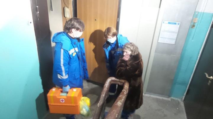 В центре Екатеринбурга во время ночного пожара в квартире погиб мужчина