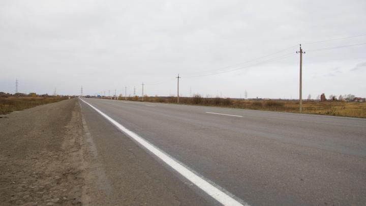 В Челябинской области до сентября ограничат движение на трассе недалеко от границы с Казахстаном