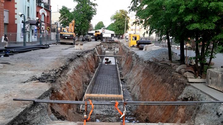 Из-за ремонта теплотрассы перекроют три центральные улицы Челябинска