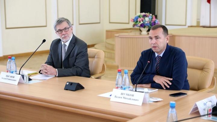 Губернатор Курганской области Вадим Шумков предложил улучшения процедуры госзакупок