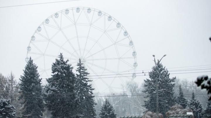 Белый снег, серый лед: какой будет погода на выходных в Ростове