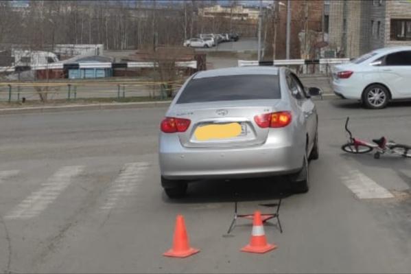 9-летний ребенок получил травмы на пешеходном переходе
