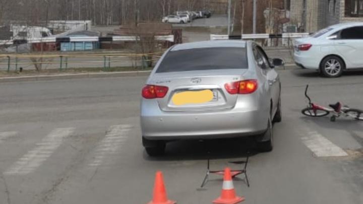 За сутки на дорогах Красноярска пострадали трое детей