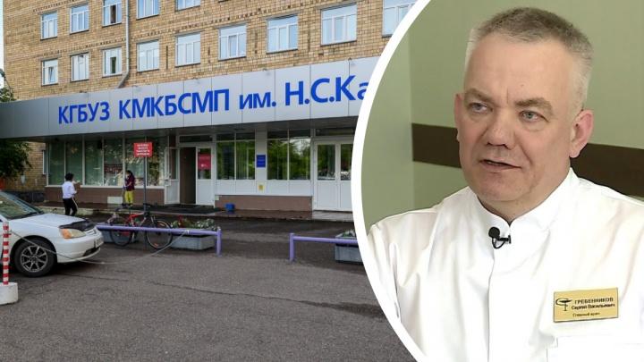 Главврач БСМП рассказал, кто чаще умирает от коронавируса в Красноярске