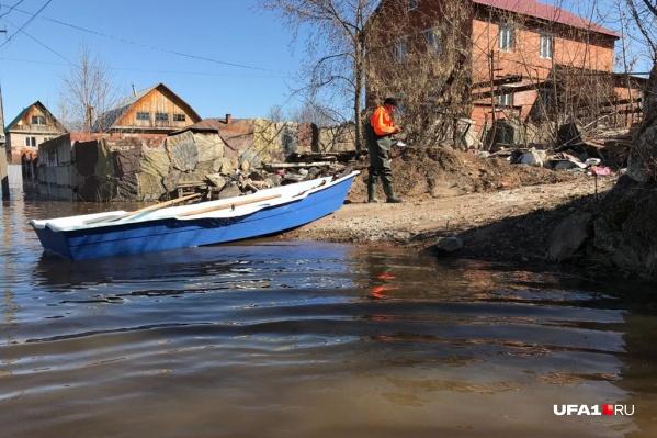 Некоторые районы остаются под угрозой затопления
