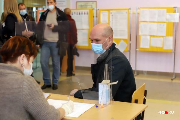 Большинство голосов на выборах набрали единороссы, следом идут коммунисты