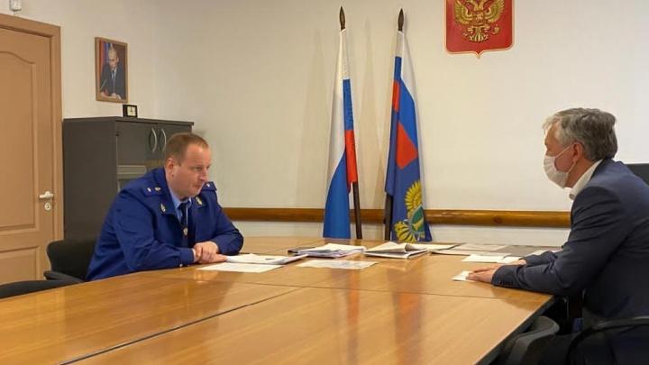 Прокурор Кузбасса вынес предостережение главе муниципалитета