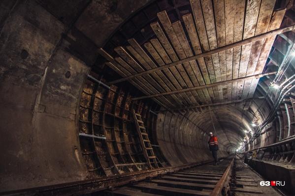 Строительство метро всегда сильно затягивалось в Самаре