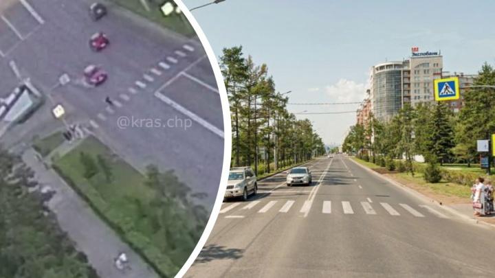 Девушка-подросток перебегала Дубровинского на красный свет и попала в реанимацию