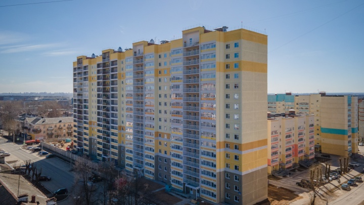 Строительство первой очереди дома по улице Адмирала Ушакова,15 завершено точно в срок