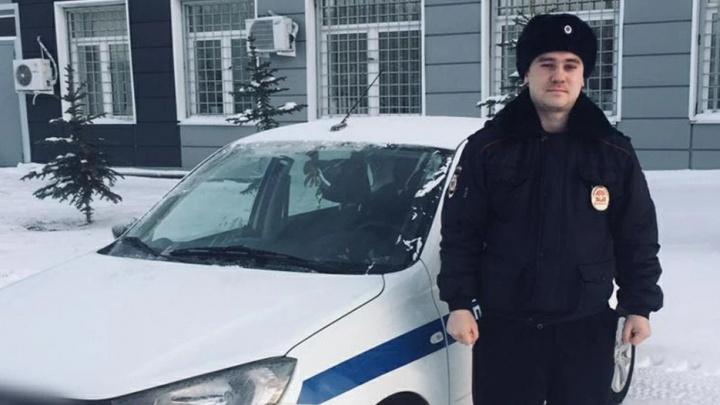 «Я не считаю себя героем»: в Башкирии полицейский спас пенсионерку из задымленной квартиры