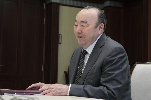 Муртаза Рахимов возглавлял республику с 1990 по 2010 год