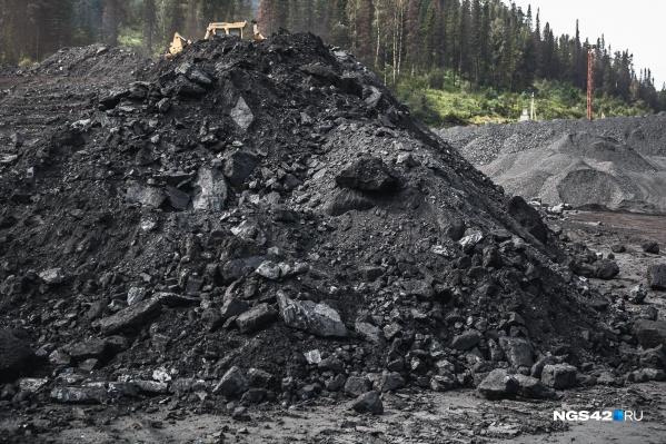 Уголь привозят кемеровчанам мелкий и сырой